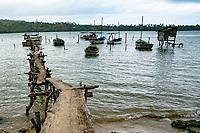 Fishing Harbor, Baracoa Cuba 2020 from Santiago to Havana, and in between.  Santiago, Baracoa, Guantanamo, Holguin, Las Tunas, Camaguey, Santi Spiritus, Trinidad, Santa Clara, Cienfuegos, Matanzas, Havana