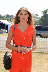 SABRINA PERCY at the Veuve Clicquot Gold Cup, Cowdray Park, Midhurst, West Sussex on 21st July 2013.