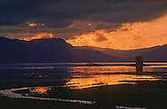 Loch Linnhe castle on the western coast of Scotland.  May 1996