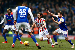Joe Allen of Stoke City - Mandatory by-line: Phil Chaplin/JMP - 16/02/2019 - FOOTBALL - Portman Road - Ipswich, England - Ipswich Town v Stoke City - Sky Bet Championship