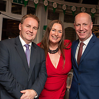 REPRO FREE<br /> Pictured at the opening of the 43rd Kinsale Gourmet Festival at the Blue Haven were Cormac Fitzgerald, Fitzgerald and Partners; Yvonne Coughlan, RSVP productions and Minister Jim Daly.<br /> Picture. John Allen