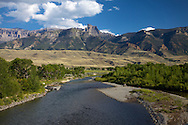 South Fork Shoshone River, Abaroka Mountains, Cody Wyoming