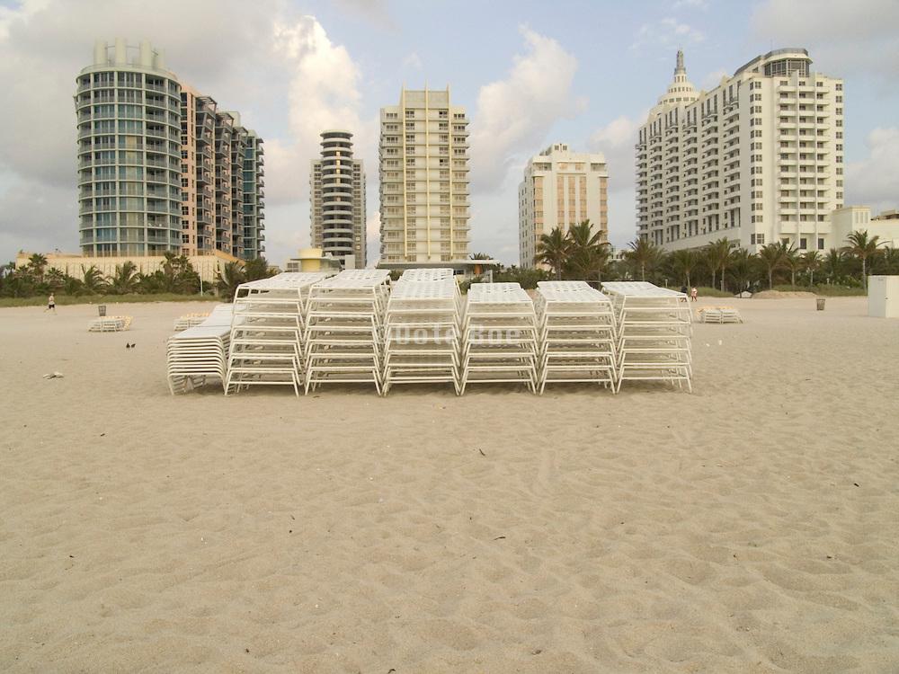 early morning hotels Miami beach USA