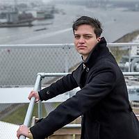 Nederland, Amsterdam, 17 februari 2017.<br />Isaac van Raab van Canstein is afgestudeerd in zowel het strafrecht en als het ondernemingsrecht aan de Universiteit van Amsterdam. <br /> Foto: Jean-Pierre Jans