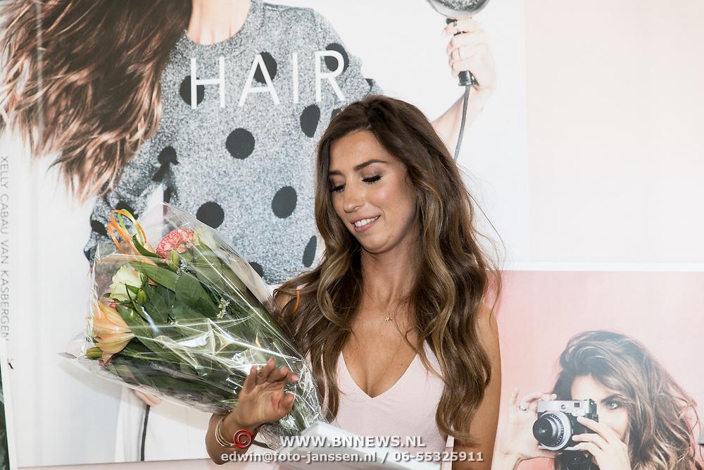 NLD/Amsterdam/20170522 - Boekpresentatie Hair By Xelly, Xelly Cabau van Kasbergen