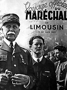 Henri Philippe Pétain 24 April 1856 – 23 July 1951, Marshal Pétain was a French general, later Chief of State of Vichy France, from 1940 to 1944