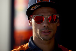 September 22, 2018 - Alcaniz, Teruel, Spain - Miguel Oliveira (44) of Portugal and Red Bull KTM Ajo KTM during qualifying for the Gran Premio Movistar de Aragon of world championship of MotoGP at Motorland Aragon Circuit on September 22, 2018 in Alcaniz, Spain. (Credit Image: © Jose Breton/NurPhoto/ZUMA Press)