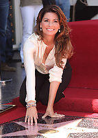 6/2/2011 Shania Twain poses by her Hollywood Walk of Fame star