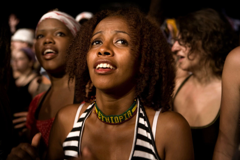 Osoppo (Ud), Italy, July 7th, 2007. Rototom Sunsplash Reggae Festival.