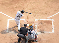 CHICAGO - SEPTEMBER 17:  Paul Konerko #14 of the Chicago White Sox bats against the Detroit Tigers on September 17, 2012 at U.S. Cellular Field in Chicago, Illinois.  The White Sox defeated the Tigers 5-4.  ((Photo by Ron Vesely)  Subject:  Paul Konerko