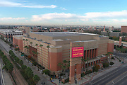A general view of the Galen Center on the campus of the University of Southern California, Saturday, Dec. 5, 2020, in Los Angeles. The arena, opened in 2006, is the home of the USC men's and women's basketball and volleyball teams.