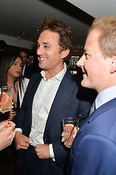THOMAS VAN STRAUBENZEE at the launch of Geisha at Ramusake hosted by Piers Adam and Marc Burton at Ramusake, 92B Old Brompton Road, London on 11th June 2015.