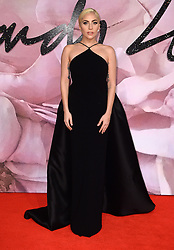 Lady Gaga attending The Fashion Awards 2016 at The Royal Albert Hall in London. <br /> <br /> Picture Credit Should Read: Doug Peters/ EMPICS Entertainment