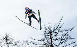 Stefan Kraft (AUT) soaring through the air during the Ski Flying Hill Individual Competition at Day 2 of FIS Ski Jumping World Cup Final 2019, on March 22, 2019 in Planica, Slovenia. Photo by Masa Kraljic / Sportida