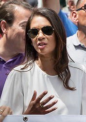 © Licensed to London News Pictures. 23/06/2018. London, UK. Activist Gina Miller joins the People's Vote march for a second EU referendum in central London. Photo credit: Peter Macdiarmid/LNP