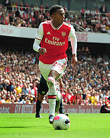 Football - 2019 / 2020 Premier League - Arsenal vs. Burnley<br /> <br /> Joe Willock of Arsenal, at The Emirates.<br /> <br /> COLORSPORT/ANDREW COWIE