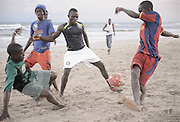 Beach Football - Accra, Ghana