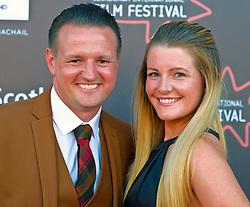 Edinburgh International Film Festival, Saturday, 24 June 2018<br /> <br /> STEEL COUNTRY (WORLD PREMIERE)<br /> <br /> Pictured:  Scott Kyle and his wife Karen<br /> <br /> (c) Alex Todd | Edinburgh Elite media