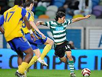 20091105: LISBON, PORTUGAL - Sporting Lisbon vs Ventspils: Europa League 2009/2010 - Group Stage. In picture: Matias Fernandez (SPO). PHOTO: Alexandre Pona/CITYFILES