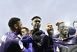 January 13, 2019 - Toulouse, France - Penalty but et joie Yaya Sanogo  (Credit Image: © Panoramic via ZUMA Press)