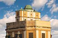 Observatory and Camera obsura tower ontop of the Lyseum .<br /> <br /> Visit our HUNGARY HISTORIC PLACES PHOTO COLLECTIONS for more photos to download or buy as wall art prints https://funkystock.photoshelter.com/gallery-collection/Pictures-Images-of-Hungary-Photos-of-Hungarian-Historic-Landmark-Sites/C0000Te8AnPgxjRg