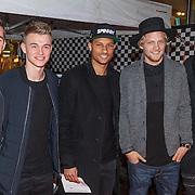 NLD/Amsterdam/20150401 - Premiere Fast & Furious 7, sporters oa Ricardo van Rhijn, Mike van der Hoorn, Joël Veltman,