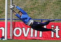 Duisburg 7/6/2006 World Cup 2006<br /> <br /> Italy's training<br /> <br /> Primo allenamento della nazionale italiana in Germania per la coppa del mondo 2006<br /> <br /> Il portiere titolare Gianluigi Buffon<br /> <br /> Photo Andrea Staccioli Graffitipress