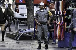 July 24, 2017 - Novos PMs (policiais militares) começaram a trabalhar no policiamento ostensivo nesta segunda-feira (24). São 1018 brigadianos que serão distribuídos por todo estado, Porto Alegre ficará com 70%, ou seja, 756 PMs. (Credit Image: © Omar De Oliveira/Fotoarena via ZUMA Press)