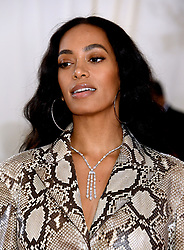 Solange Knowle attending the Metropolitan Museum of Art Costume Institute Benefit Gala 2019 in New York, USA.
