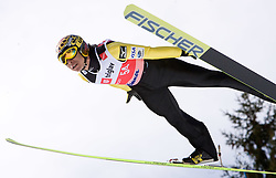Noriaki Kasai of Japan competes during Flying Hill Individual Qualifications at 1st day of FIS Ski Flying World Championships Planica 2010, on March 18, 2010, Planica, Slovenia.  (Photo by Vid Ponikvar / Sportida)