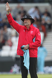 June 21, 2019 - Leeds, Yorkshire, United Kingdom - Umpire Paul Wilson during the ICC Cricket World Cup 2019 match between England and Sri Lanka at Headingley Carnegie Stadium, Leeds on Friday 21st June 2019. (Credit Image: © Mi News/NurPhoto via ZUMA Press)