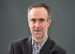 """Edinburgh, Scotland, UK; 18 August, 2018. Pictured; Graham Robb is a British author and French literary critic. Previous winner of he Whitbread Biography Prize, Robb excavates the wrangling over the debatable land, the area of a once independent territory between Scotland and England, in his book """"The Debatable Land""""."""