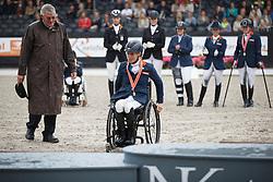 Den Dulk Nicole, (NED)<br /> Para Dressuur Finale<br /> Dutch Championship Dressage - Ermelo 2015<br /> © Hippo Foto - Dirk Caremans<br /> 19/07/15