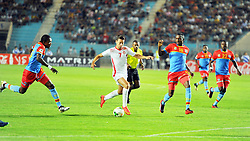 September 1, 2017 - Tunis, Tunisia - Youssef M'sakni(7) of Tunisia  during the qualifying match for the World Cup Russia 2018 between Tunisia and the Democratic Republic of Congo (RD Congo) at the Rades stadium in Tunis. (Credit Image: © Chokri Mahjoub via ZUMA Wire)