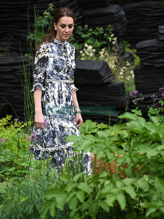 Members of The Royal Family attend the RHS Chelsea Flower Show at the Royal Hospital Chelsea, London, UK, on the 20th May 2019. 20 May 2019 Pictured: Catherine, Duchess of Cambridge, Kate Middleton. Photo credit: James Whatling / MEGA TheMegaAgency.com +1 888 505 6342