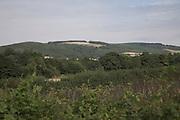 Quantock Hills from near Stogumber, Somerset, England