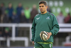 November 3, 2018 - Galway, Ireland - Jarrad Butler of Connacht during the Guinness PRO14 match between Connacht Rugby and Dragons at the Sportsground in Galway, Ireland on November 3, 2018  (Credit Image: © Andrew Surma/NurPhoto via ZUMA Press)