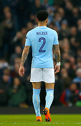 Manchester City's Kyle Walker during the UEFA Champions League, Quarter Final at the Etihad Stadium, Manchester.