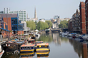 Boats in Floating Harbour, Bristol