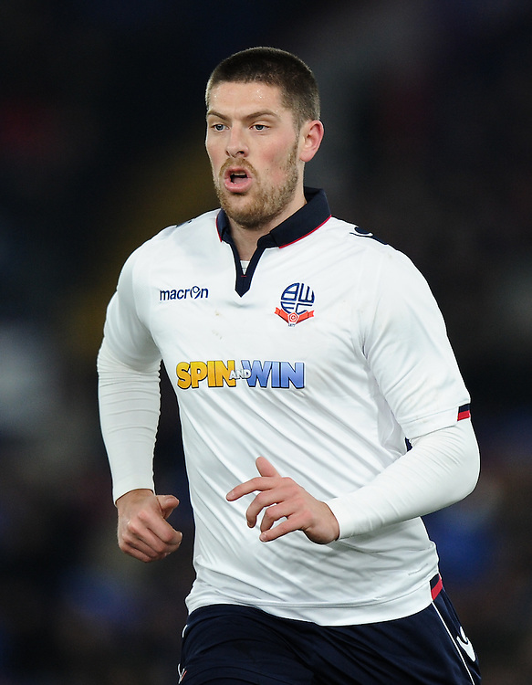 Bolton Wanderers' Jamie Proctor in action during todays match  <br /> <br /> Photographer Ashley Western/CameraSport<br /> <br /> Emirates FA Cup Third Round Replay - Crystal Palace v Bolton Wanderers - Tuesday 17th January 2017 - Selhurst Park - London<br />  <br /> World Copyright © 2017 CameraSport. All rights reserved. 43 Linden Ave. Countesthorpe. Leicester. England. LE8 5PG - Tel: +44 (0) 116 277 4147 - admin@camerasport.com - www.camerasport.com