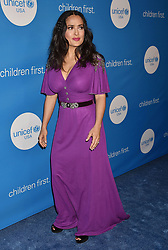 BEVERLY HILLS, CA - APRIL 14: Actress Alyssa Milano attends the 7th Biennial UNICEF Ball at the Beverly Wilshire Four Seasons Hotel on April 14, 2018 in Beverly Hills, California. 14 Apr 2018 Pictured: Salma Hayek. Photo credit: TM/ROT/Capital Pictures / MEGA TheMegaAgency.com +1 888 505 6342