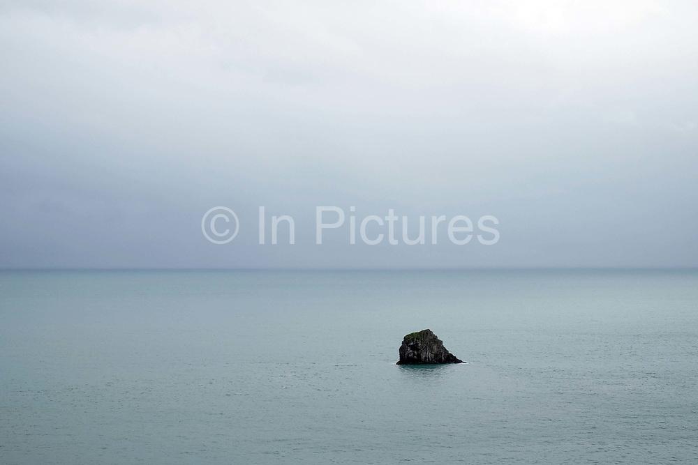 The sea viewed from Berry Head near Brixham on 28 July 2017 in Devon, United Kingdom