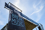 The Red Bull Sound Select stage at the Firefly Music Festival in Dover, DE on June 20, 2014.