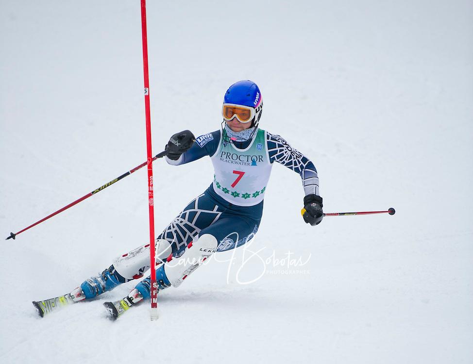 FIS Slalom at Proctor Blackwater Ski Area in Andover, NH  December 31, 2012.