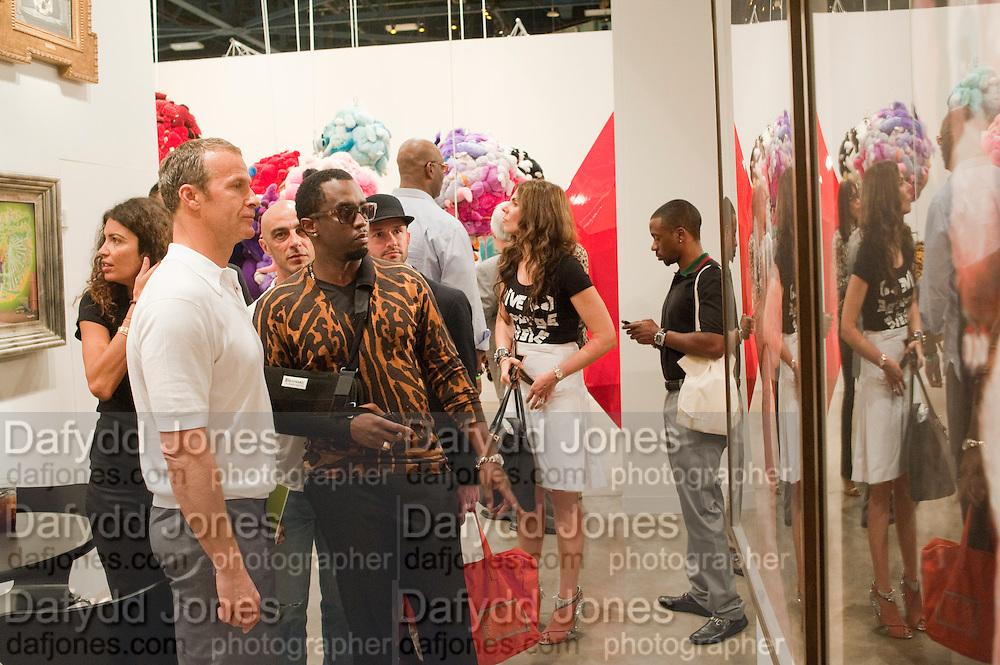 SEAN COMBS, Opening of Miami Art Basel 2011, Miami Beach. 30 November 2011.