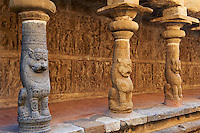 Inde, etat du Tamil Nadu, Kanchipuram, temple de Vaikunta Perumal // India, Tamil Nadu, Kanchipuram, Vaikunta Perumal temple