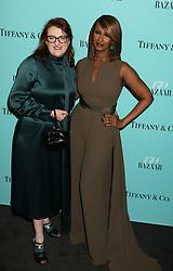 April 19, 2017 - New York, New York, U.S. - Harper's Bazaar Editor In Chief GLENDA BAILEY and model IMAN attend the Tiffany & Co. and Harper's Bazaar 150th Anniversary Event held at the Rainbow Room. (Credit Image: © Nancy Kaszerman via ZUMA Wire)