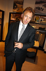 MARK DUNHILL at the launch of Dunhill by Design by Nick Foulkes held at Alfred Dunhill, 48 Jermyn Street, London on 24th October 2006.<br /><br />NON EXCLUSIVE - WORLD RIGHTS