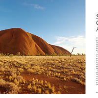 Tourists heading to he base of Uluru for the Kuniya Walk form part of a spread on luxury travel in the outback, for Australia In Style