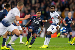 November 6, 2018 - London, Greater London, England - Steven Bergwijn of PSV Eindhoven during the UEFA Champions League Group Stage match between Tottenham Hotspur and PSV Eindhoven at Wembley Stadium, London, England on 6 November 2018. Photo by Salvio Calabrese. (Credit Image: © AFP7 via ZUMA Wire)